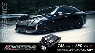 748 RWHP WHIPPLE Gen 3 CTS-V  - Build, Beauty, Dyno, Action - VENGEANCE RACING
