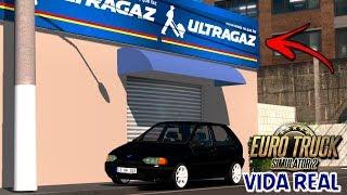 Euro Truck Simulator 2 - Vida Real#01 - Mostrando Meu Carro & Indo Ver Emprego Na Ultragaz