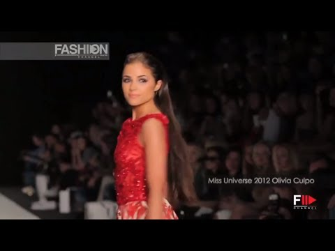 "MISS UNIVERSE for ""TONY WARD COUTURE"" Fashion Show Moscow 2013 by Fashion Channel"