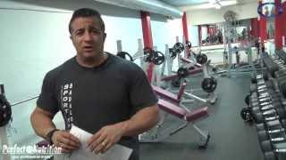 rutinas de ejercicios pecho y espalda con toni gutierrez cptv programa 152