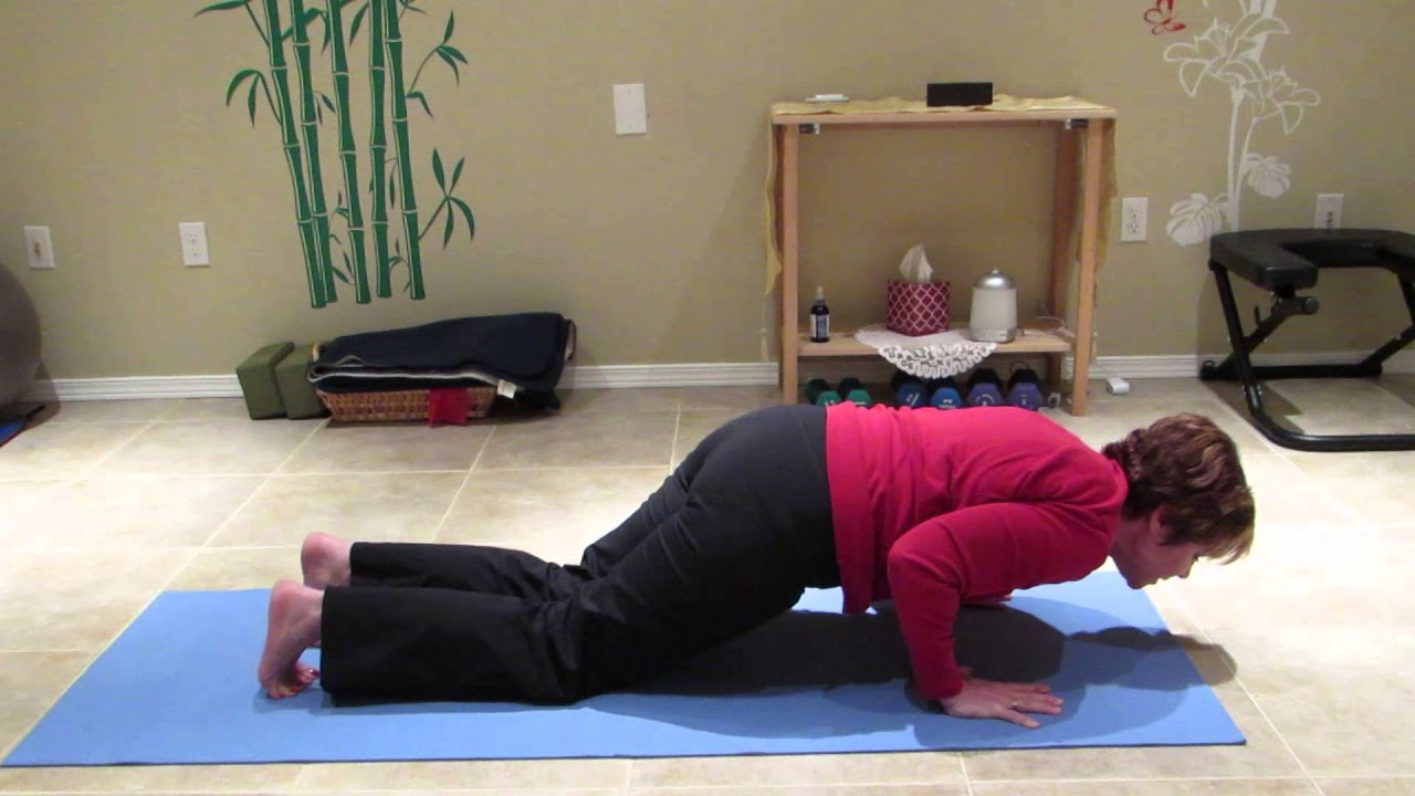 Transition from Downward to Upward Dog - part 3 - YouTube