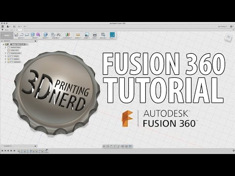 Fusion 360 Tutorial to Create a Maker Coin for 3D Printing