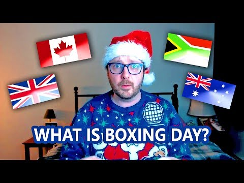 Let's Talk About Boxing Day