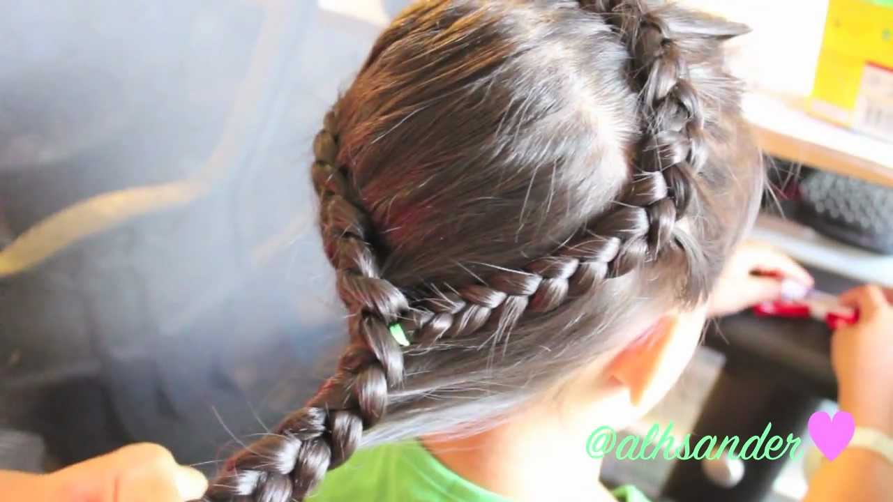 ™�side Braid Hair Tutorial For Little Girls (and All Girls)♡