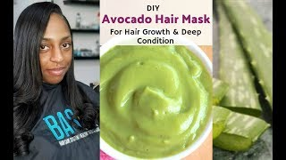 EXTREME Aloe Vera Avocado Deep Conditioning Mask For HAIR GROWTH