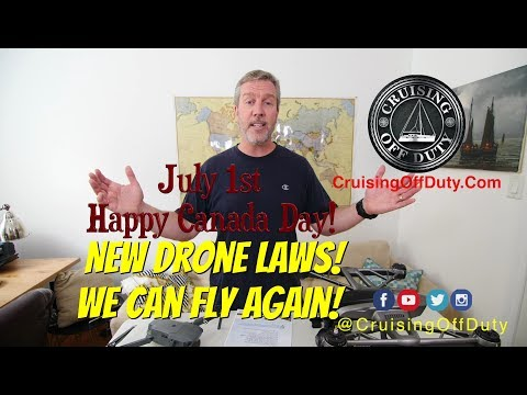 Happy Canada Day!  Canadian Drone Laws have improved so we can fly again.  Ep70