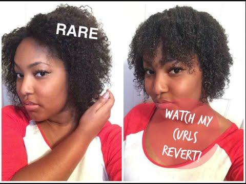 Heat Damage Watch My Curls Revert Length Check 4a Natural Hair