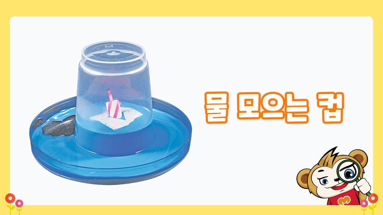 노리랑과학 5호 B형 3회차 물 모으는 컵