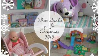 What Rosalie got for Christmas 2015