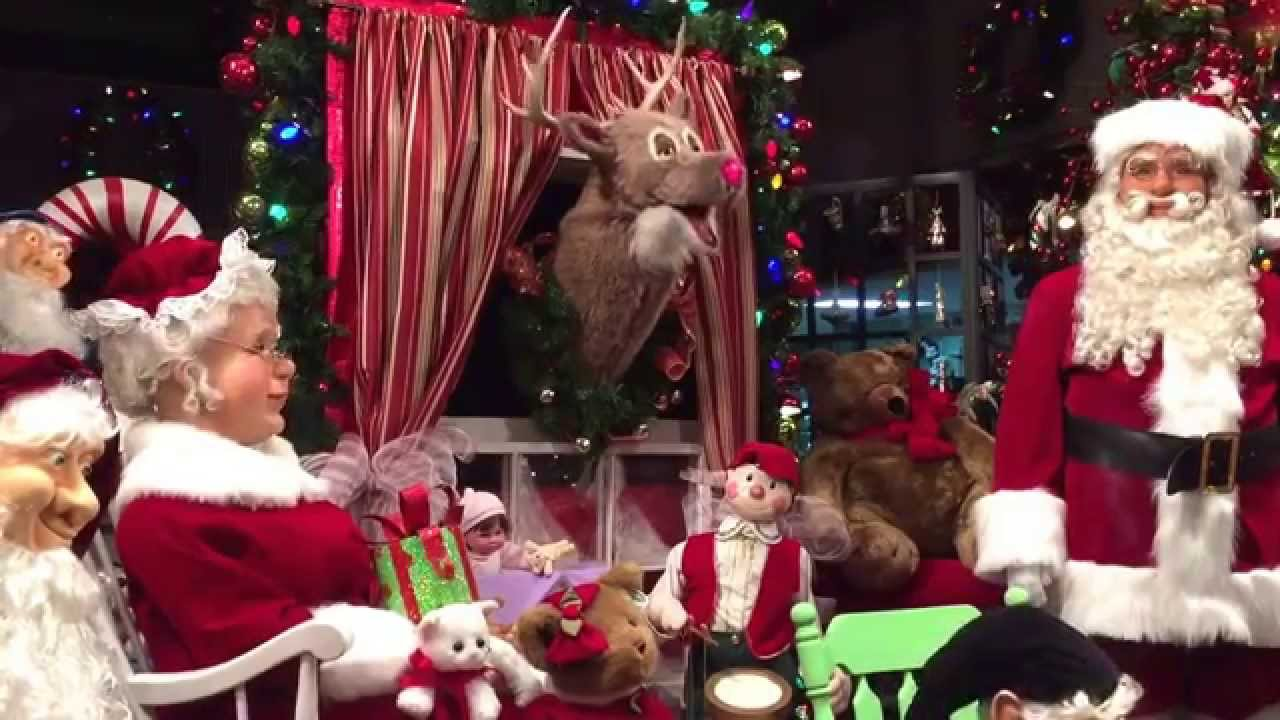 animatronic christmas at kuhn flowers in jacksonville florida - Christmas Animatronics