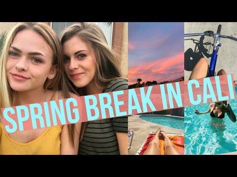 Spring Break in California//March 17-21 2016
