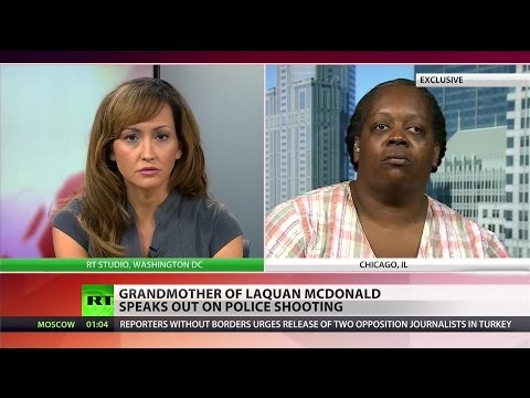 RT EXCLUSIVE: Laquan McDonald's grandmother: I felt angry, disrespected seeing the video