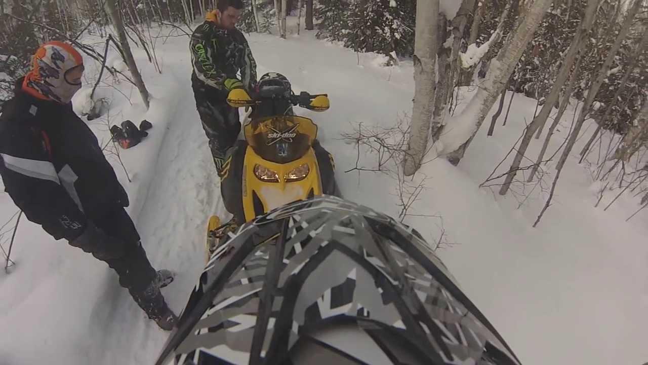 One Confused Ski-Doo!(07 MxzX 550f) - YouTube on
