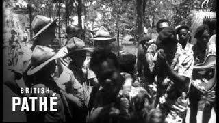 15,000 Boys Scouts Gather In Australia For Jamboree (1961)