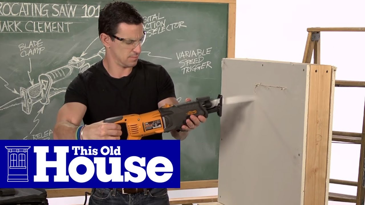 Saw To Cut Wall : Reciprocating saw how to cut into a wall safely youtube