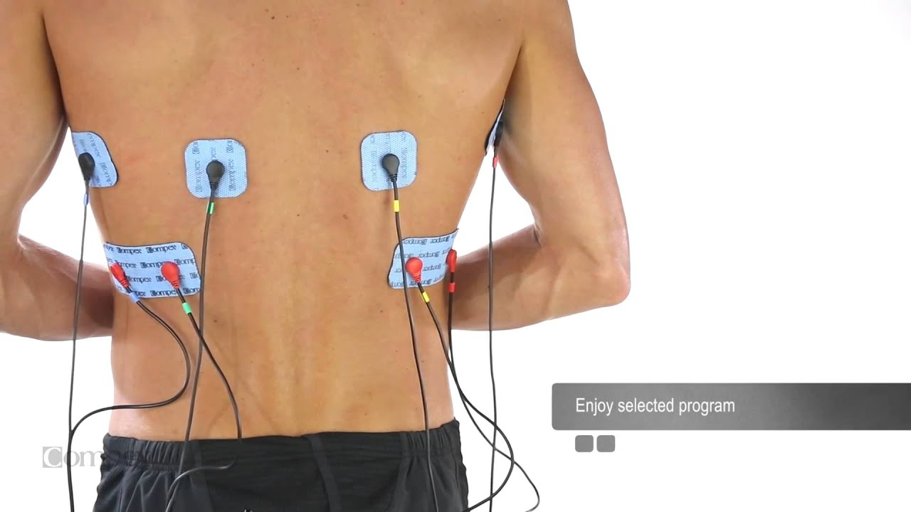 electrode machine for muscles
