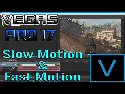 Vegas Pro 17 Tutorial | Slow Motion/Fast Motion Effects.