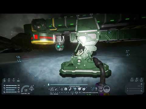 Space Engineers, pt 61, Repair & rethink of shuttle Hydrogen Thrusters