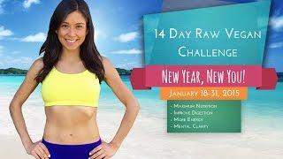 14 Day Raw Vegan Challenge