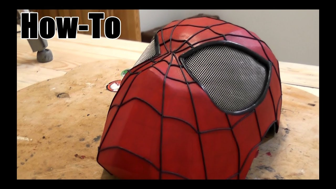 How to make a spider man mask