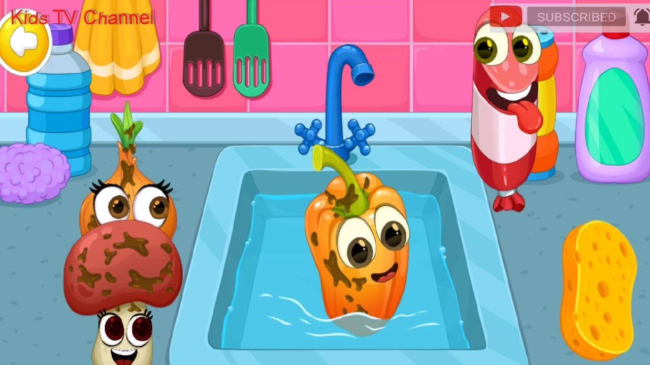 Fun Food Vegetables Cooking Full HD - YOVO games for KIDS - Games From YOVO Games - Kids TV Channel