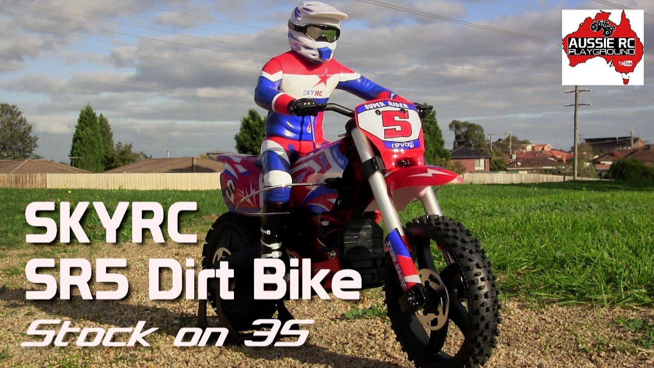 Skyrc Super Rider Sr5 Dirt Bike First Run On 3s Youtube