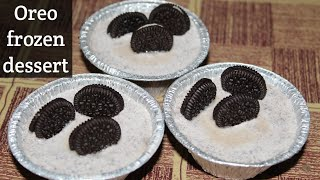 Oreo Frozen Dessert/by Hearty And Healthy Kitchen
