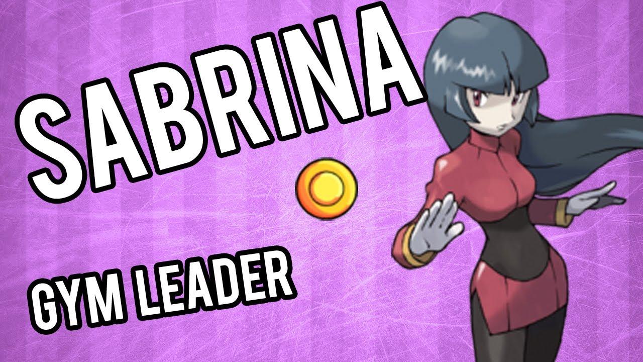 sabrina gym leader pokemon