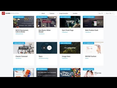 How To Import Revolution Slider Plugin Demo Sliders For Free - WordPress Tutorial
