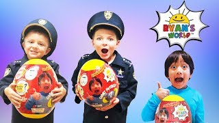 Ryans Toy World pretend play kids skit and surprise egg childrens video