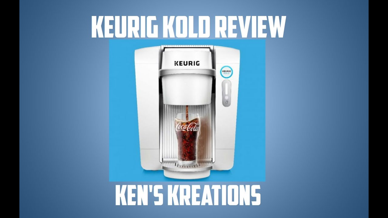 KEURIG KOLD Unboxing, Review & Taste Test - YouTube