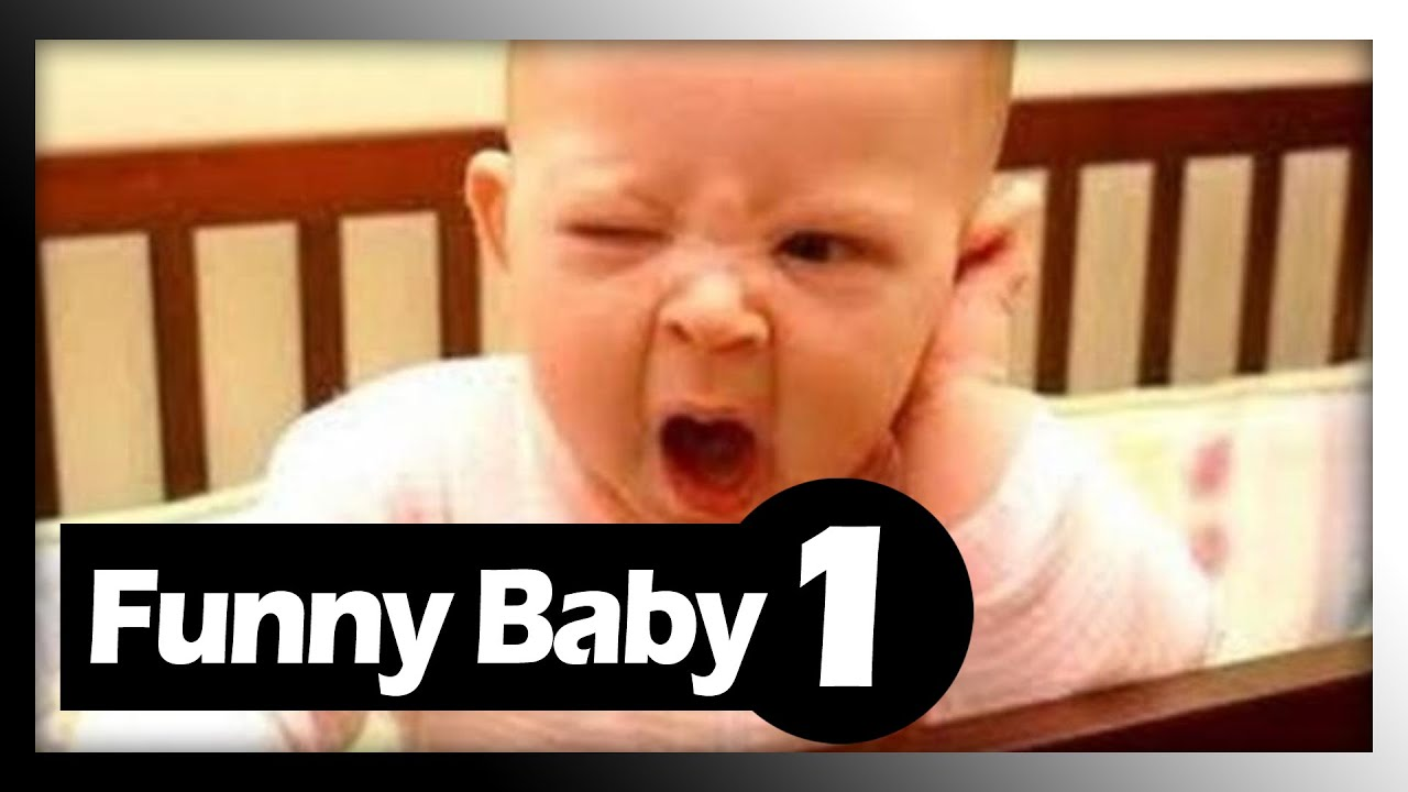 Smile Funny Baby Video | Baby Comedy Cry #1 - YouTube