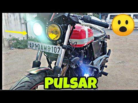 Modified Bajaj Pulsar Into CafeBrat Style By Vanguard Custom Motorcycles MotoMahal