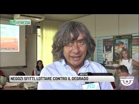 TG VENEZIA (19/06/2019) - NEGOZI SFITTI, LOTTARE C...
