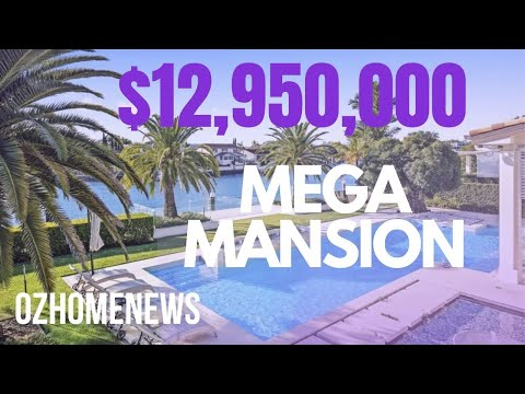 WALKTHROUGH - $12,950,000 MONACO STREET MEGA MANSION