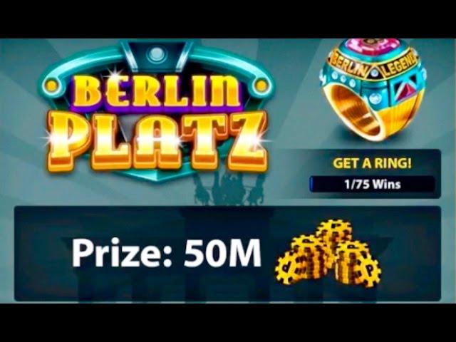 8 Ball Pool Epic Match Berlin Platz Winning 50 Million Coins Youtube