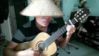 Mưa lệ (Bolero Guitar) - Anhbaduy Guitar - Cà Mau