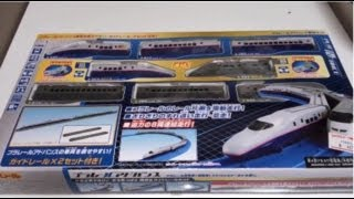 プラレールアドバンス E2系・E3系 連結&ガイドレールセットを紹介・開封!