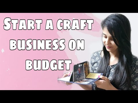HOW TO START CRAFT BUSINESS ON BUDGET || Start your business with less investment