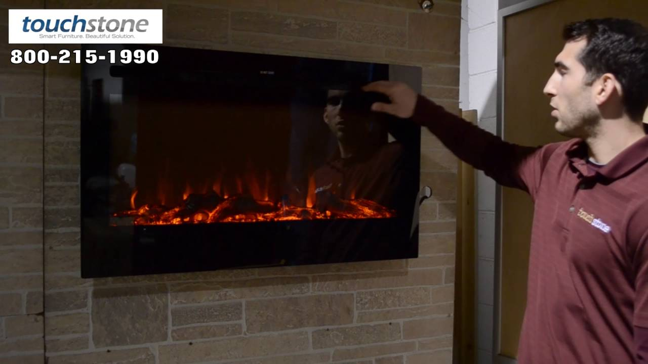 recessed electric fireplace partially 80014 touchstone sideline 36