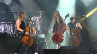 Apocalyptica - Creeping Death (Metallica Cover) [Vilnius, 2015-07-09]