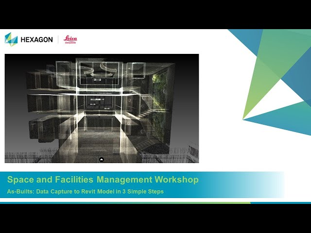Space & Facilities Management As Builts - Data Capture to Revit Model in 3 Simple Steps