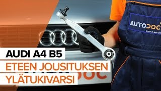 Audi A4 b7 huolto: ohjevideo