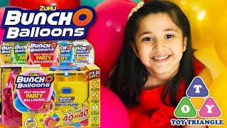 ZURU's Bunch O Balloons Party Pump | Unboxing Toy Review | How to use Bunch O Balloon party pump