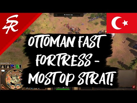 Ottoman Fast Fortress - the Most OP Strategy!   Age of Empires III