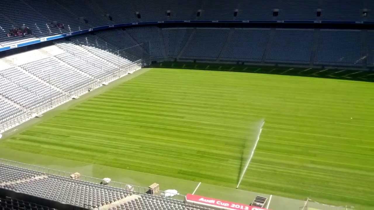 Rasen Allianz Arena