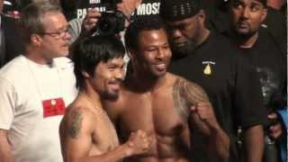 Manny Pacquiao GIVES SHOES AWAY