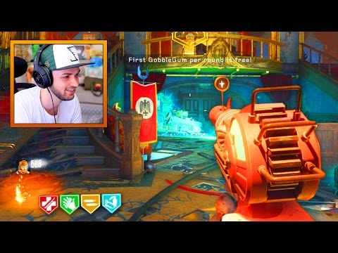 30 minute ZOMBIE CHALLENGE! - KINO DER TOTEN REMASTERED GAMEPLAY! (BO3 Zombie Chronicles DLC 5)
