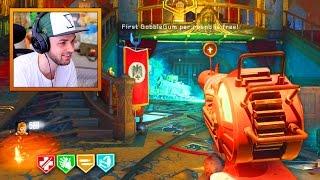 30 minute ZOMBIE CHALLENGE! - KINO DER TOTEN REMASTERED GAMEPLAY! (BO3 Zombie Chronicles DLC 5)