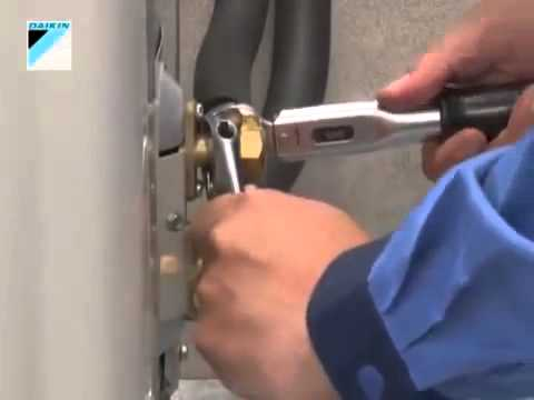 Máy lạnh Daikin - Hướng dẫn lắp đặt máy lạnh Daikin